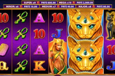 slots with cats